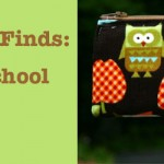 Feature Friday: Back to School Handmade Finds