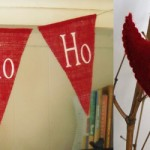 Feature Friday: Red and White Handmade Christmas
