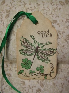 IRISH DRAGONFLY Good Luck Irish Blessing