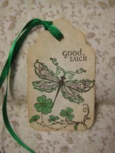 IRISH DRAGONFLY Good Luck Irish Blessing
