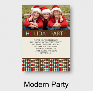 Picaboo Modern Party Card