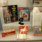 "The Visible Man (1960), Digi-Comp I Toy Computer (1965), Gilbert Microscope and Lab Set (1957), ""New Math"" Flash Cards (1966), Spitz Junior Planetarium (1960), Mathematics: The Story of Numbers (1958)"
